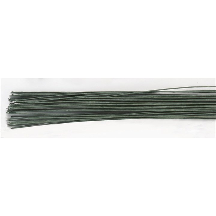 Dark Green Floral Wire - 30 gauge (0.32mm)