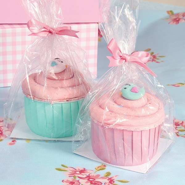 Cupcake Gift Bag With Base Pack Of 12