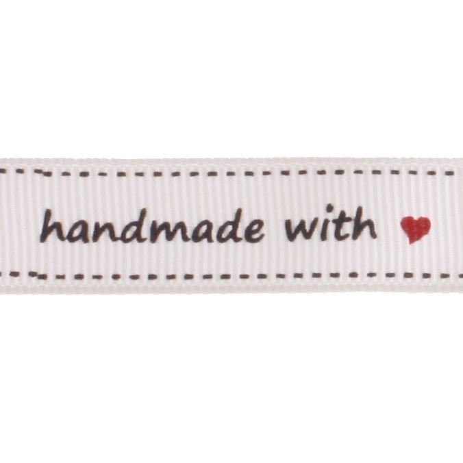 Handmade With Love Ribbon Culpitt