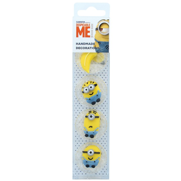 Despicable Me - 8 Minions Edible Decorations - Single Pack