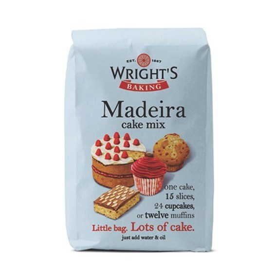 Wrights Cake Mix Madeira - single
