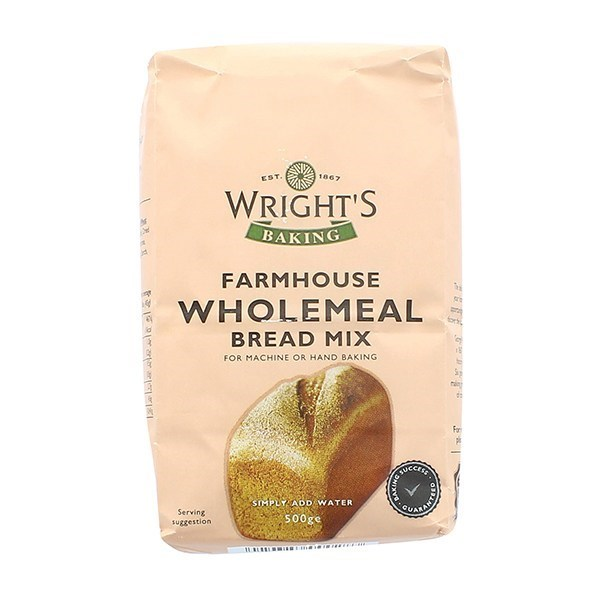 Wrights Wholemeal Bread Mix - 500g - single