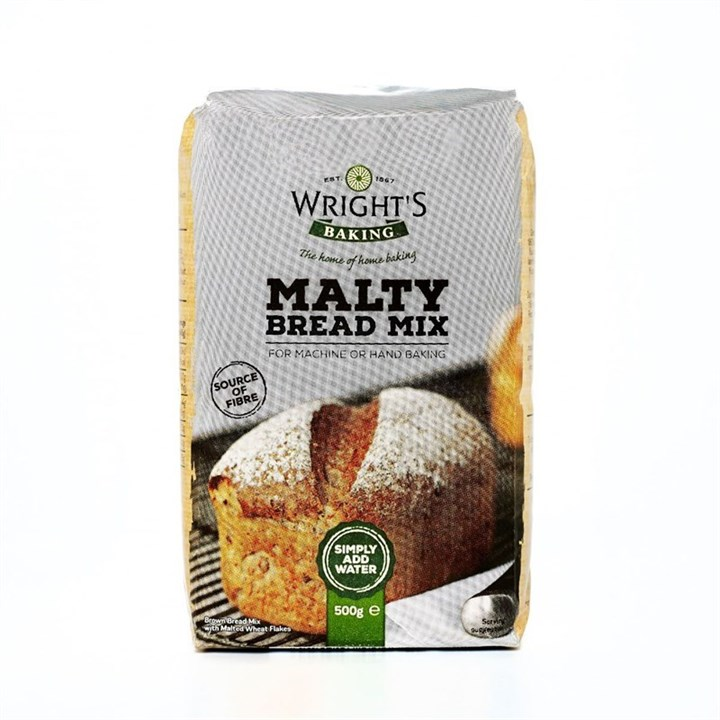 Wrights Malty Bread Mix 500g - single
