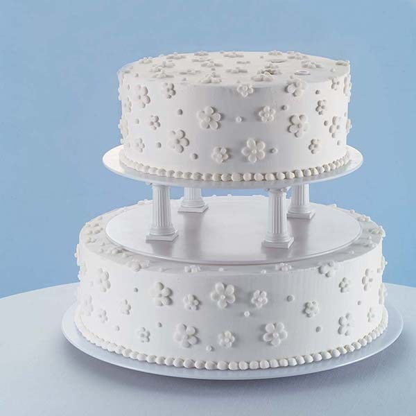 wedding cake separator plates and pillars wilton 6 smooth edge separator plate culpitt 24273