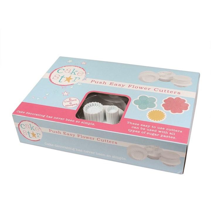 Cake Star Push Easy Cutters Flowers 6 Piece Culpitt