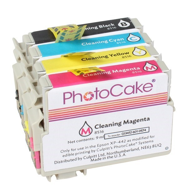 PhotoCake® - Cleaning Kit for Print Head Only - NOT FOR