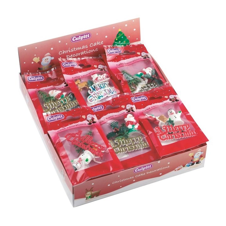 Christmas Cake Decoration Pack : ** No longer available ** Culpitt