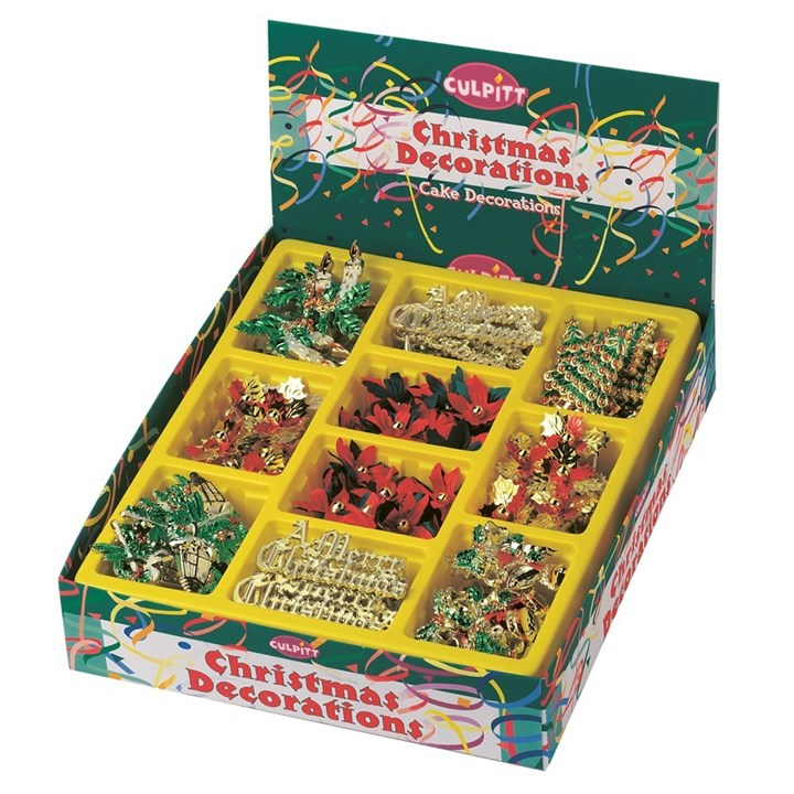 Christmas Motto And Decoration Assorted Pack Culpitt