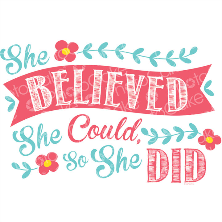 She Believed Could So Did Image