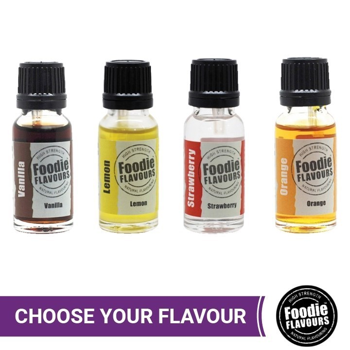 Foodie Flavours Natural Flavourings 15ml
