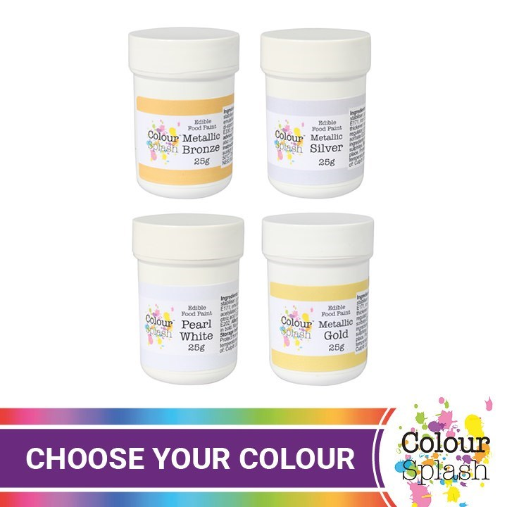 Colour Splash Paints Metallic
