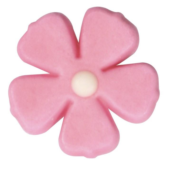 Pink Five Petal Flower 26mm Culpitt