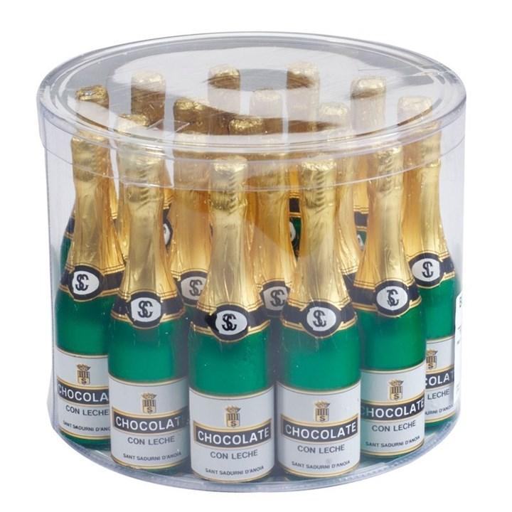 Chocolate Champagne Bottles 130mm Culpitt