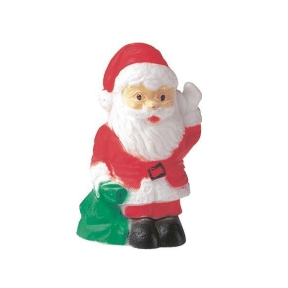 Plastic Santa with Sack - Christmas Cake Decoration Culpitt
