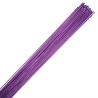 Purple Floral Wire - 24 gauge (0.56mm)