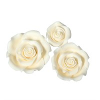 SugarSoft® Roses - Mixed Pack - Ivory