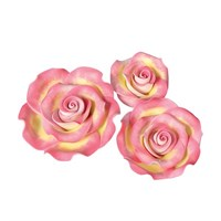 SugarSoft® Roses - Marbled - Pink & Gold - Mixed Box