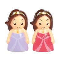 Cute Princess Cake Topper - 2 designs - Boxed 12