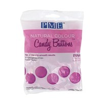 PME Natural Candy Buttons - Pink - 200g