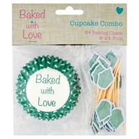 Cupcake Cases and Pics by Baked with Love