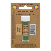 Sugarflair Blossom Tint Dusting Colours - Moss Green