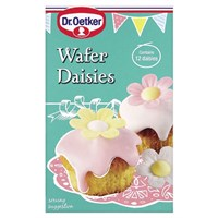 Dr Oetker Cake Decorations Tesco : Culpitt - Dr. Oetker 12 Wafer Daisies