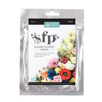 Squires Sugar Florist Paste (SFP) - Black - 100g