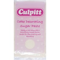 Culpitt Cake Decorating Sugar Paste Ivory 1 x 1kg - single