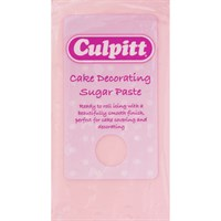 Culpitt Cake Decorating Sugar Paste Light Pink 8 x 250g