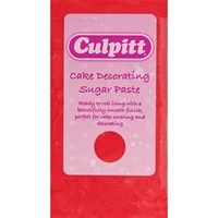 Culpitt Cake Decorating Sugar Paste Red 1 x 250g