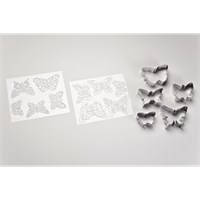Cookie Cutter Texture Set - Butterflies