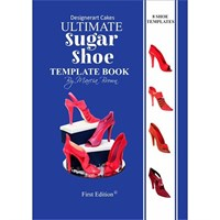 Designerart Cakes Ultimate Sugar Shoe Template Book