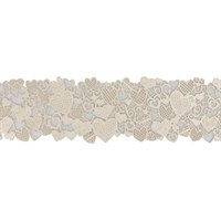 House of Cake Edible Hearts Cake Lace - Pearl