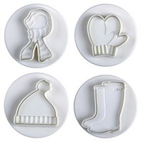 Pavoni Plunger Cutter Winter 4 Piece