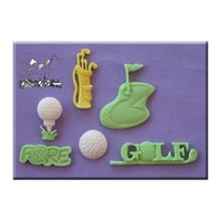 Alphabet Moulds - Golf