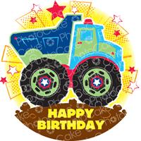 Happy Birthday Truck