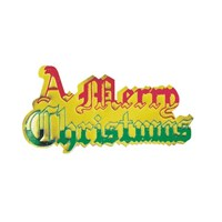 A Merry Christmas Paper Motto
