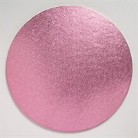 12'' (304mm) Cake Board Round Light Pink