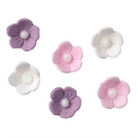 Assorted sugar flowers white lilac pink culpitt assorted sugar flowers white lilac pink mightylinksfo