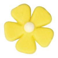 Yellow five petal flower 26mm culpitt yellow five petal flower 26mm mightylinksfo
