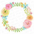 Spring Floral Wreath - Image