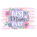 Best Mum Plaque - Image